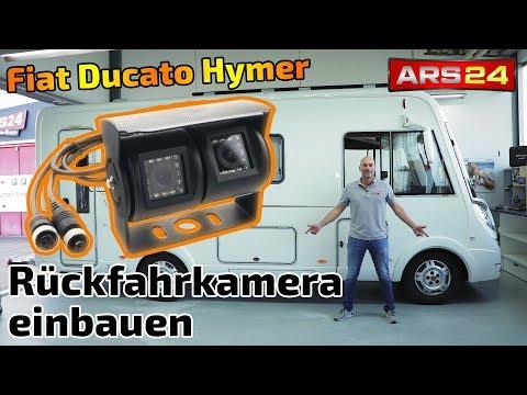Rückfahrkamera für Transporter nachrüsten | Einbauen im Fiat Ducato Hymer | ARS24