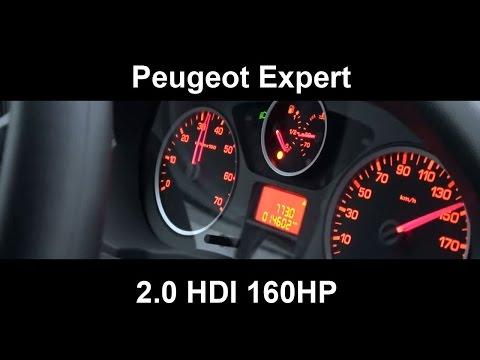 Peugeot Expert 2.0 HDI 160HP 0-100 km/h