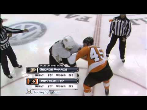 Jody Shelley vs. George Parros