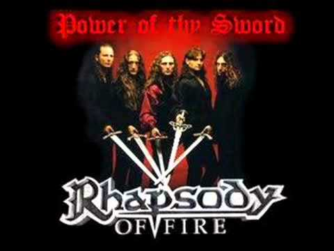Manowar Covers - Rhapsody Of Fire -  Power Of Thy Sword
