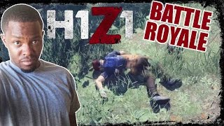 EMBARRASSED RAGE QUIT!! -  H1Z1 Battle Royale Gameplay | H1Z1 Solo BR