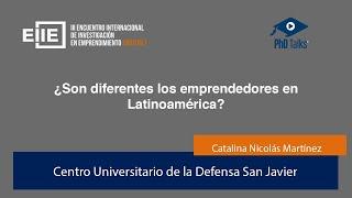 ¿Son diferentes los emprendedores en Latinoamérica?