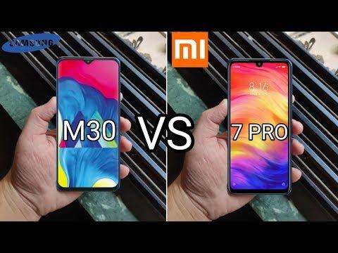 Samsung M30 Vs Redmi Note 7 Pro Full Comparison In Hindi🔥