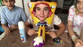 Arkadaşlarım ile Pie Face Challenge  Nisanur Neşeli