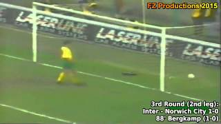 1993-1994 Uefa Cup: FC Internazionale All Goals (Road to Victory)