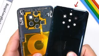 Nokia 9 PureView Teardown - How do all these Cameras work?