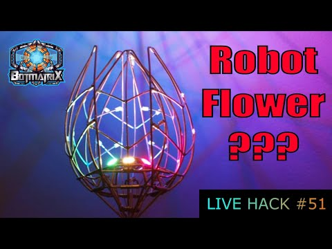 Robot Flower Live Hack