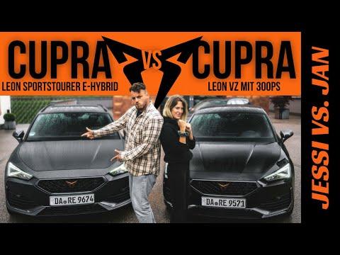 Cupra Leon VZ (300 PS) vs. Cupra Leon Sportstourer e-Hybrid (245 PS) Welcher passt besser zu dir?!