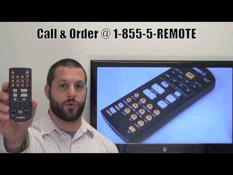 YAMAHA RAV21 Audio/Video Receiver Remote Control
