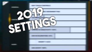 2019 Settings