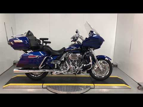 Used 2015 Blue FLTRUSE CVO Road Glide Ultra For Sale
