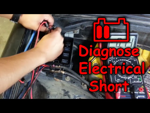 Electrical Short Draining Car Battery
