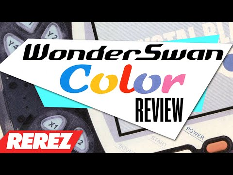 WonderSwan Color: Japanese Handheld Game Console - Rare Obsure or Retro - Rerez