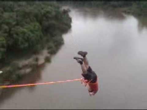 Rope jump - Pendulo em Antonio Prado 2 saltos
