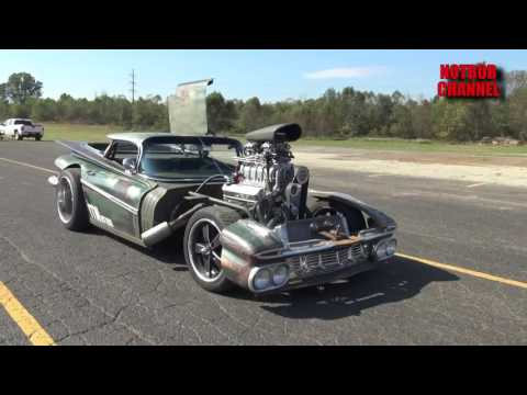 800 HP El Camino Rat Rod