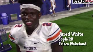 Frisco Wakeland's Sophomore RB Jared White Talks About His Breakout Game Against McKinney North