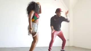 """Controlla"" Dancehall Video | Dj Flex Afro Beats Remix | Shellee & Kemar"
