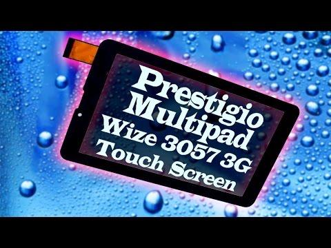 Тачскрин или сенсорный экран для планшета Prestigio Multipad Wize 3057 3G (PMT3057 3G)