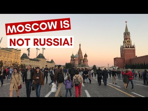 Moscow is NOT Russia (видео)