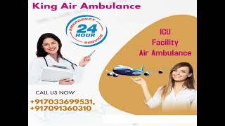 Paramount Air Ambulance in Kolkata at Economical Cost by King