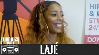 Lajé discusses the importance of good energy, relationships & More (Part 1)