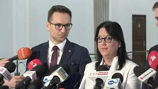 Konferencja prasowa PiS w Sejmie – OFE