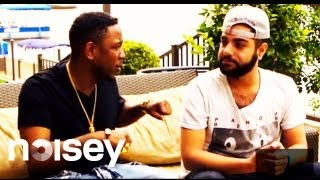 Compton MC Kendrick Lamar Interviewed By Hima From Das Racist - Rap Show - Episode 1