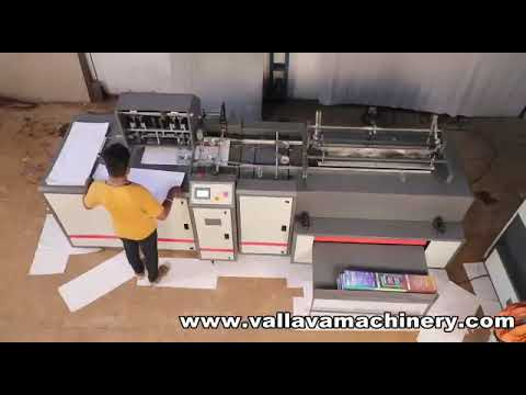 Exercise Note Book Making Machine
