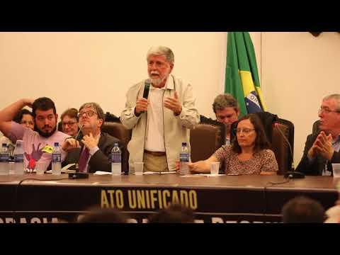 Ato unificado _ Democracia, Soberania e Desenvolvimento