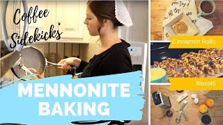 Bake with Me   Delicious Baked Goods to Go with Your Coffee   Homemade Cinnamon Rolls   Biscotti  