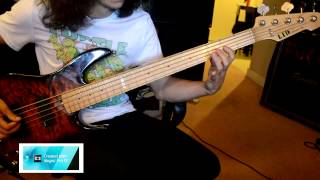 Anthrax - Lone Justice HD BASS COVER