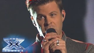 """James Kenney Sees """"Red"""" - THE X FACTOR USA 2013"""