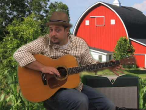 Acoustic Guitar Lesson - Flat Picking - Country and Folk Style Lead Guitar Lesson