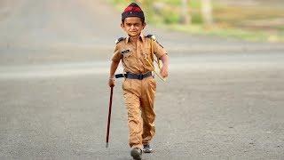 छोटू दादा पुलिस वाला   CHOTU DADA POLICE WALA   Khandesh Hindi Comedy   Chotu Comedy Video