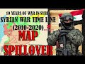 Download SYRIAN WAR SPILLOVER (MAP) 2010-2020 | 10 Years of war in Syria, Every Day Mp4 HD Video and MP3