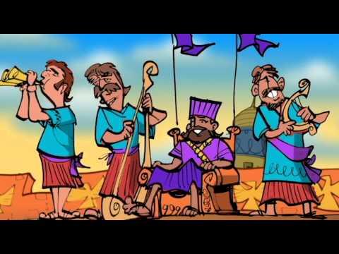 JESUSANDKIDZ.com - Daniel 3, Four Men in the Furnace