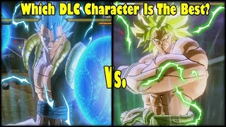 Xenoverse 2 DLC 8 Character Test SSGSS Gogeta Vs. DBS Broly Which DLC 8 Character Is Best?