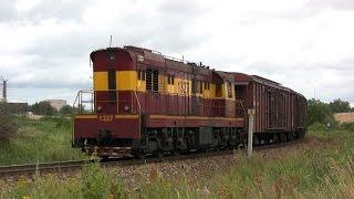Тепловоз ЧМЭ3-4325 близ ст. Маарду / CME3-4325 near Maardu station
