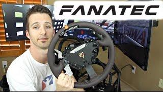 Fanatec Clubsport V2 Wheelbase & Porsche 918 Wheel REVIEW