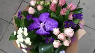 Недорогой симпатичный букет цветов