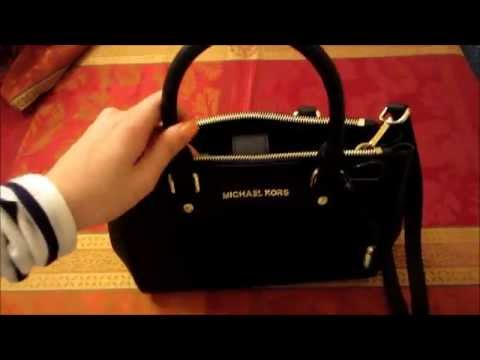 Michael Kors Sutton Satchel SMALL (Black)