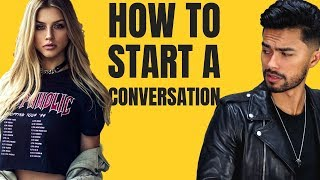 6 Ways To Start A Conversation With Beautiful Women Naturally (Use THESE Lines)