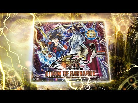 GODLY YuGiOh NORDIC's Storm of RAGNAROK 1st Edition Box Opening & Review!