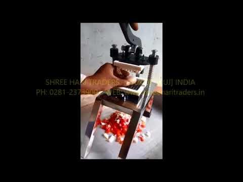 Manual Finger Chips Making Machine