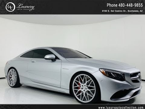 Pre-Owned 2016 Mercedes-Benz S-Class AMG® S 63 4Matic