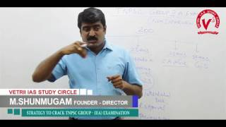 Strategy to Crack TNPSC Group II Non Interview Post by Shunmugam Director Vetrii IAS Academy