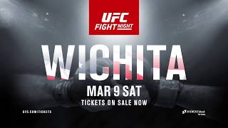 UFC Fight NIght - March 9, 2019 - INTRUST Bank Arena