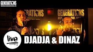 Djadja & Dinaz - La Vie Qu'on Mène (Live des studios de Generations)
