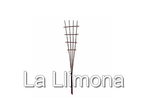 Complementos florales - Estructura rejilla bambú burdeos - La Llimona