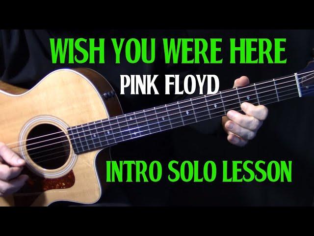 Wish You Were Here - Pink Floyd | Tablature | Tuto Guitare